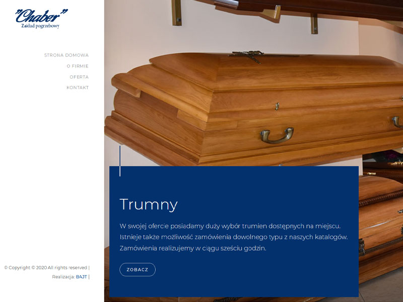 Pogrzeb Morąg i okolice